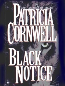 Patricia Cornwell Black Notice
